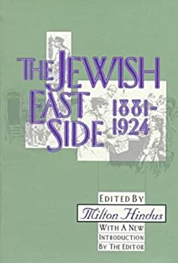 The Jewish East Side: 1881-1924 9781560008422