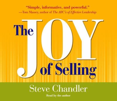 The Joy of Selling 9781565118331