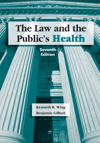 The Law and the Public's Health 9781567932614