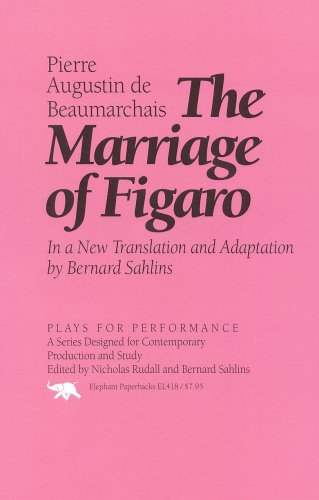 The Marriage of Figaro: In a New Translation and Adapation 9781566630665