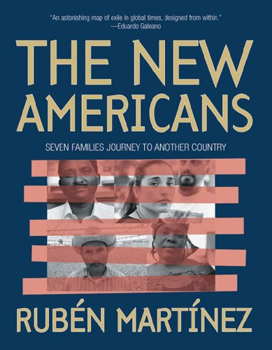 The New Americans: Seven Families Journey to Another Country 9781565849983