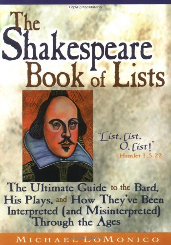 The Shakespeare Book of Lists 9781564145246