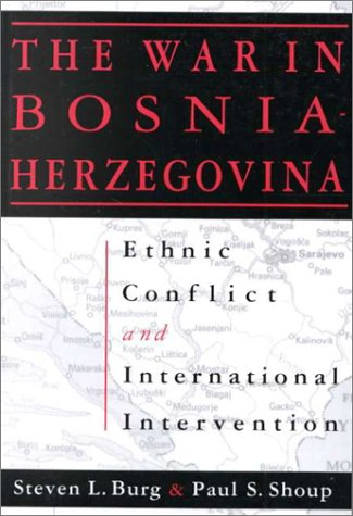 The War in Bosnia-Herzegovina: Ethnic Conflict and International Intervention 9781563243097