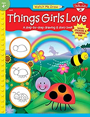 Things Girls Love [With Drawing PadWith Stickers] 9781560109501