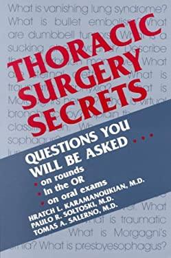Thoracic Surgery Secrets 9781560533733