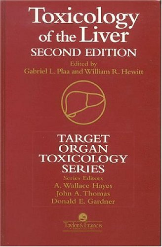 Toxicology of the Liver 9781560327196