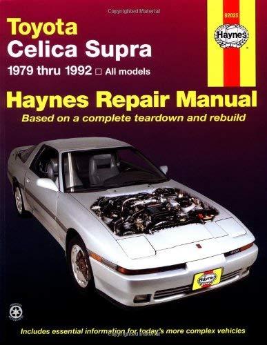Toyota Cellica Supra, 1979-1992 9781563920431