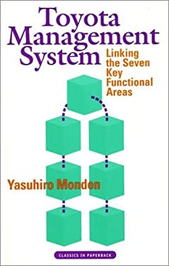 Toyota Management System: Linking the Seven Key Functional Areas 9781563271397