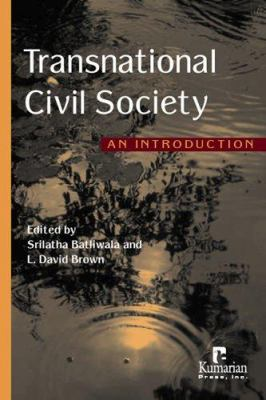 Transnational Civil Society: An Introduction 9781565492103