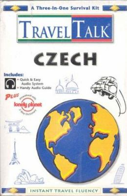 Traveltalk Czech [With Audio Guide, Lonely Planet Phrasebook]