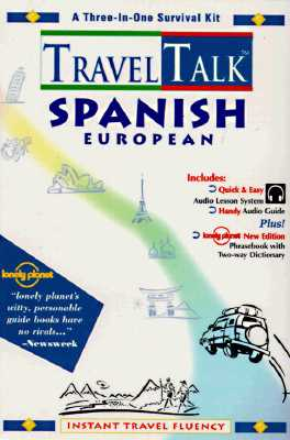 Traveltalk Spanish (European) [With 250+ Page Phrasebook and Two-Way Dictionary] 9781560156376