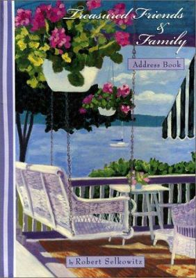 treasured friends family address book by robert selkowitz