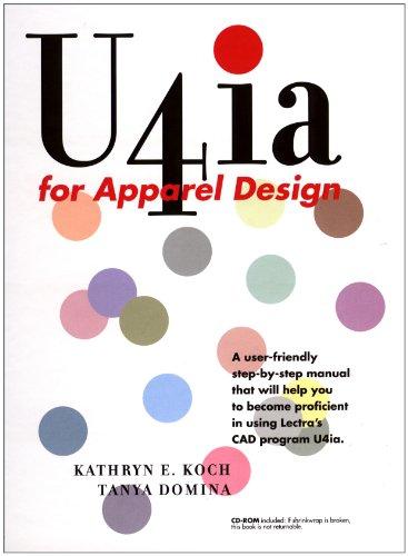 U4ia for Apparel Design [With CDROM] [With CDROM] 9781563672903