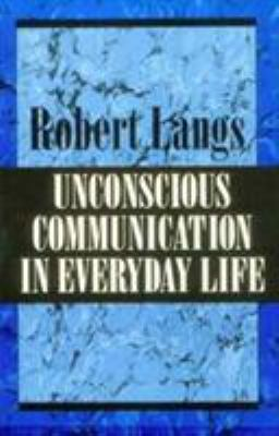 Unconscious Communication in E 9781568211060