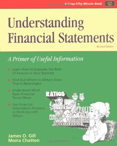 Understanding Financial Statements: A Primer of Useful Information 9781560524250