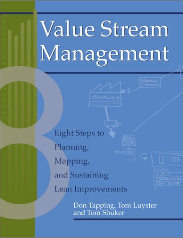 Value Stream Management: Eight Steps to Planning, Mapping, and Sustaining Lean Improvements [With CDROM] 9781563272455