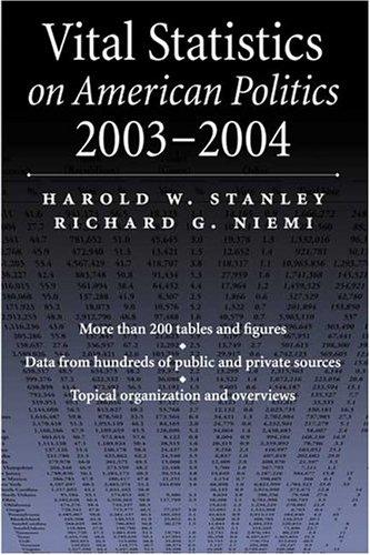 Vital Statistics on American Politics, 2003-2004 9781568028477