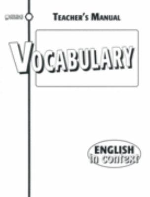 Vocabulary TM 9781562543570