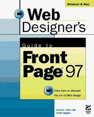 Web Designer's Guide to FrontPage 97 [With CDROM] 9781568303215