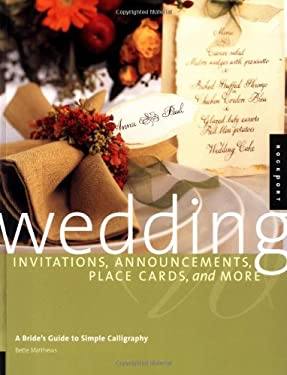 Wedding Invitations, Announcements, Place Cards, and More Bette Matthews