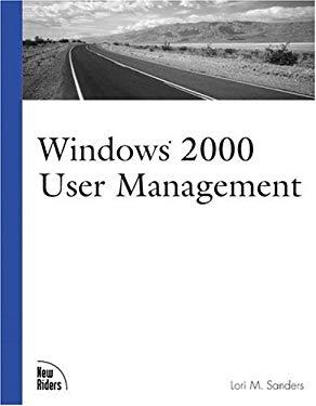 Windows 2000 User Management 9781562058869