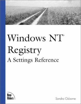 Windows NT Registry 9781562059415