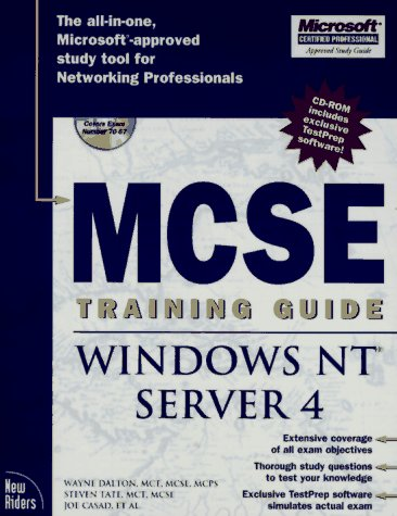 Windows NT Server 4 [With Includes New Riders' Exclusive Testprep Software..] 9781562057688