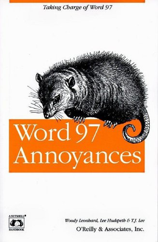 Word 97 Annoyances 9781565923089