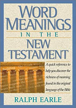 Word Meanings in the New Testament 9781565632981