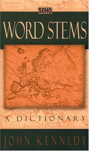 Word Stems: A Dictionary 9781569470510