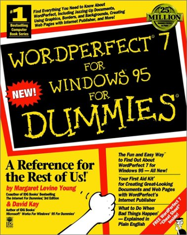 WordPerfect 7 for Windows for Dummies 9781568849492