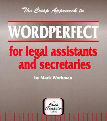 WordPerfect for Legal Assts 9781560522782