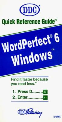 WordPerfect for Windows 9781562431396
