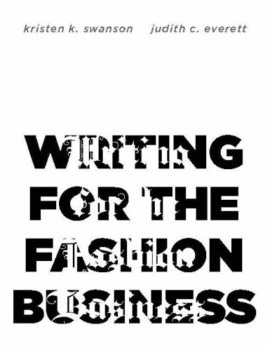 Writing for the Fashion Business 9781563674396