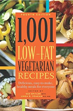 1,001 Low-Fat Vegetarian Recipes 9781572840836