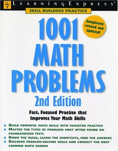 1001 Math Problems 9781576855126