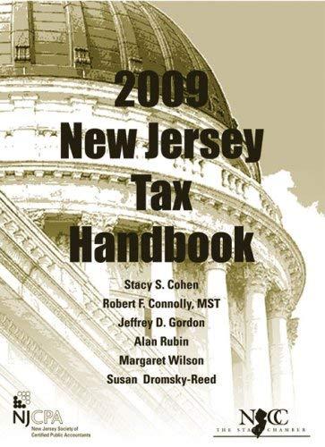 2009 New Jersey Tax Handbook 9781576253083