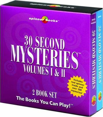 30 Second Mysteries Volumes I & II [With Spinner]