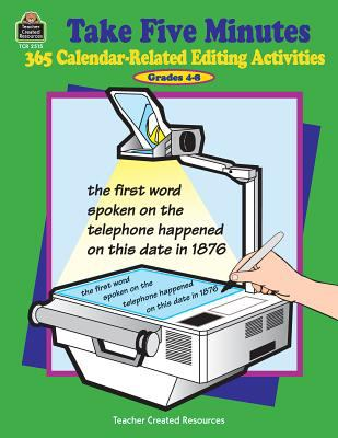 365 Calendar-Related Editing Activities, Grades 4-8 9781576905159