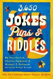 3650 Jokes, Puns, & Riddles