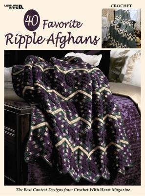 40 Favorite Ripple Afghans (Leisure Arts #3338) 9781574867060