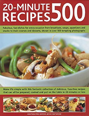 500 20-Minute Recipes 9781572156005