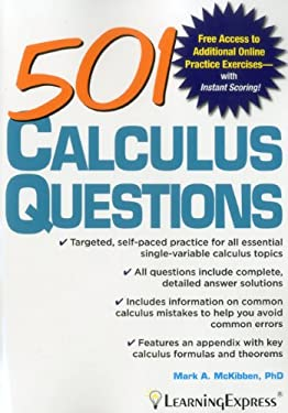 501 Calculus Questions 9781576857656