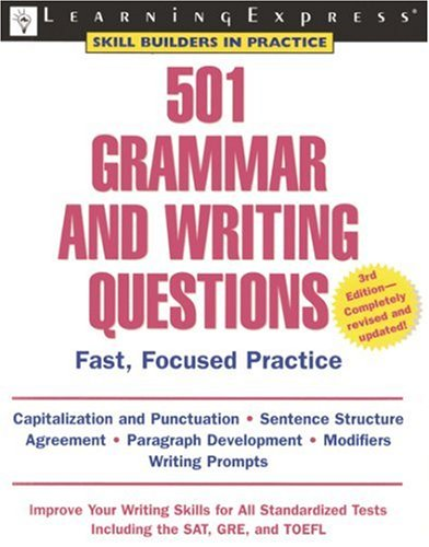 501 Grammar and Writing Questions 9781576855393