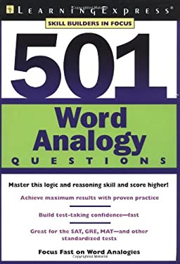 501 Word Analogy Questions 9781576854228