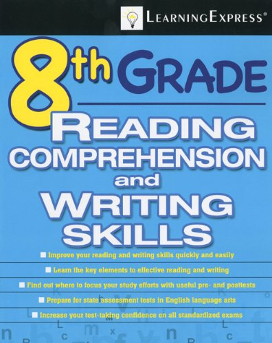 8th Grade Reading Comprehension and Writing Skills [With Access Code] 9781576857113