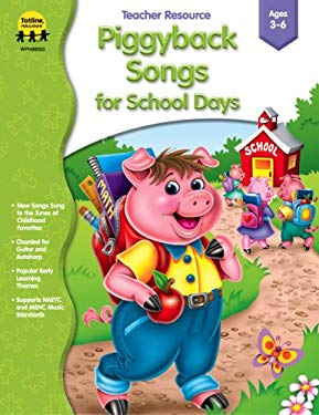 Piggyback Songs - School Days 9781570295218