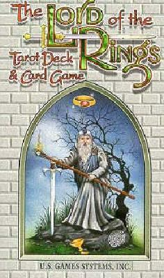 The Lord of the Rings Tarot Deck & Card Game 9781572810174