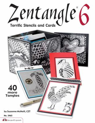 Zentangle 6: Terrific Stencils and Cards 9781574213393