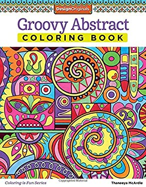 Groove Abstract Coloring Book